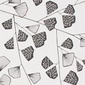 Papier peint Fern MissPrint Noir MissPrint