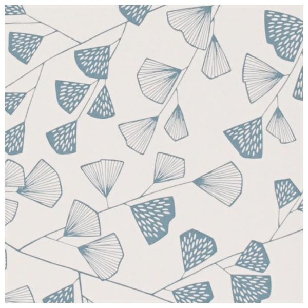 Papier peint fern missprint missprint - Tapisserie bleu canard ...