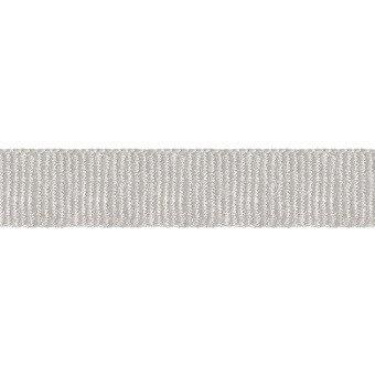 12 mm Grosgrain Braid Acier Houlès