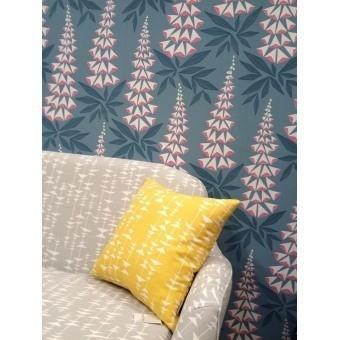 Foxglove Wallpaper Bistre MissPrint