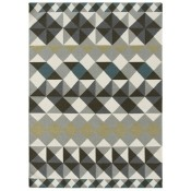 Tapis Mosaiek Kilim Grey 150x200 cm Gan Rugs