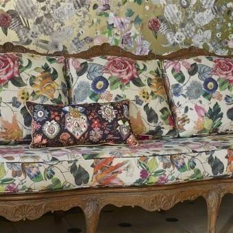 Malmaison Naturel Fabric Argile Christian Lacroix