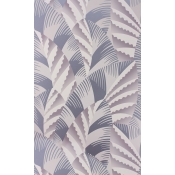 Papier peint Chrysler Heather/Metallic Lavender/Pale Taupe Osborne and Little