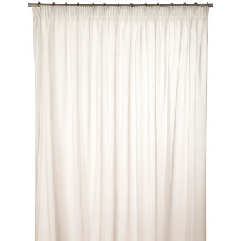 Autan Curtain Blanc Toiles de Mayenne