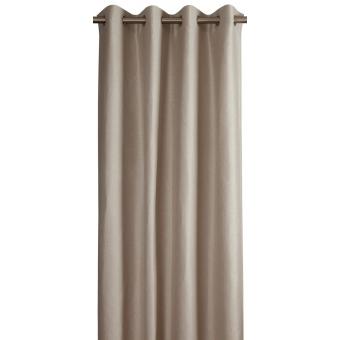 Etincelle Curtain Sable Toiles de Mayenne