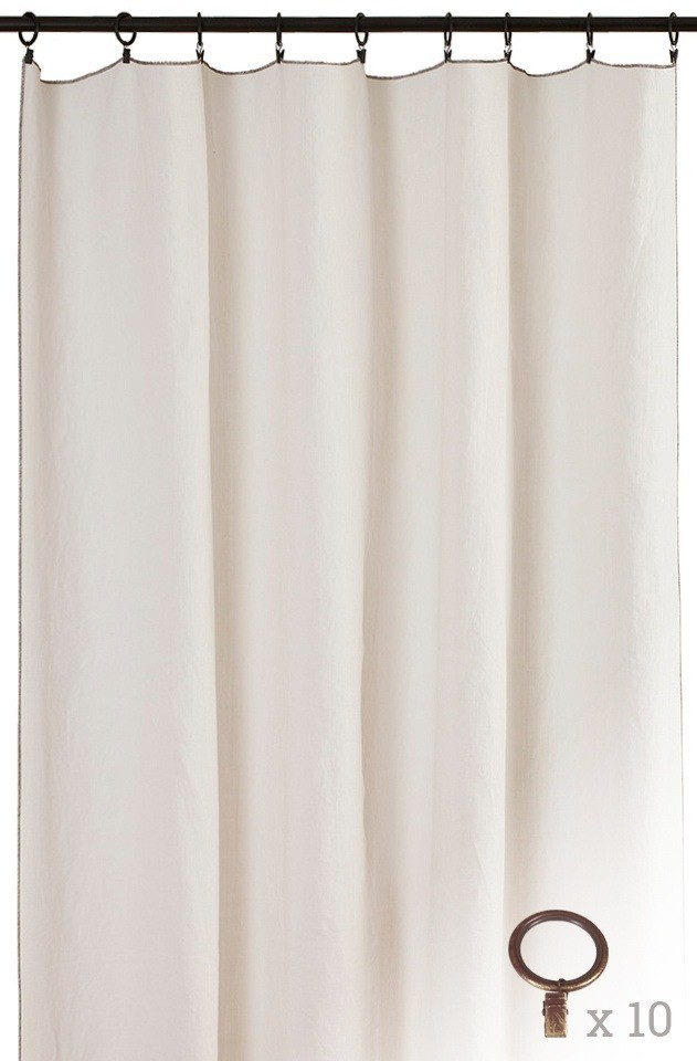 panneau cap ferret anneaux rouille toiles de mayenne. Black Bedroom Furniture Sets. Home Design Ideas