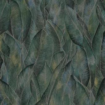 Limba Wallpaper Émeraude Casamance