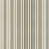 Tissu Auvergne Stripe Bluestone Ralph Lauren