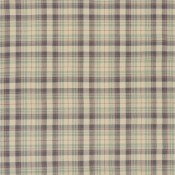 Tissu Back Bay Plaid Slate Ralph Lauren