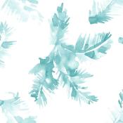 Papier peint Palmeras Blue Coordonné