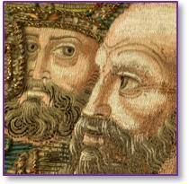 Fastes de la Couronne d'Aragon, dialogue entre les broderies et les tissus du Musée des Tissus de Lyon et du Musée épiscopal de Vic