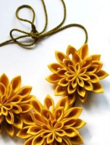 Bijoux textiles au musée des Tissus de lyon