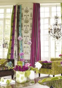 Collection Trianon, Tissu Perrault par Designers Guild