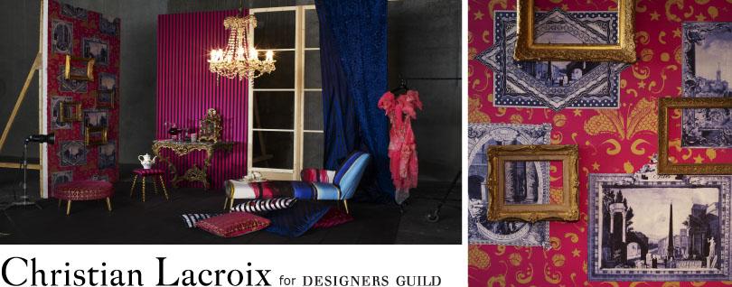 tissus tapis et coussins christian lacroix blog tissus. Black Bedroom Furniture Sets. Home Design Ideas