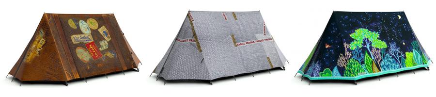 Hélas, je ne pense pas qu'on puisse s'amuser à éclater les bulles de cette tente...