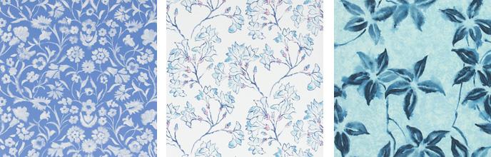 Tissu Designer Guid Kimono Blossom