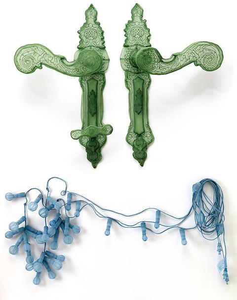 specimen en tissu par l'artiste textile coréen