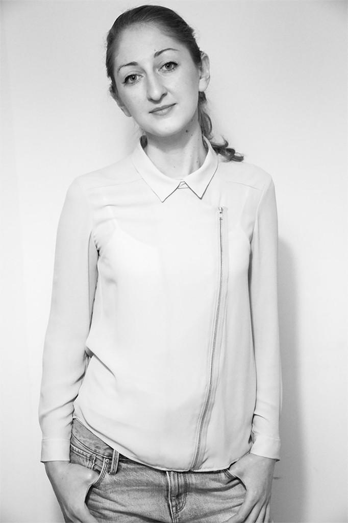 Morgane Baroghel-Crucq, designer textile formée au Département textile de l'ENSCI Paris