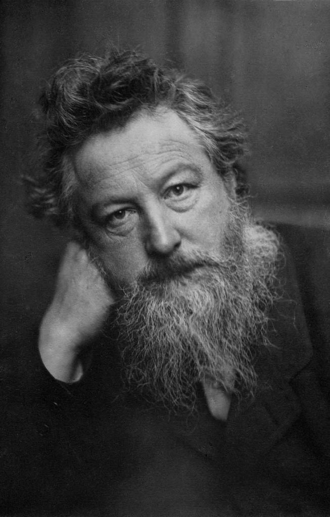Portrait de William Morris