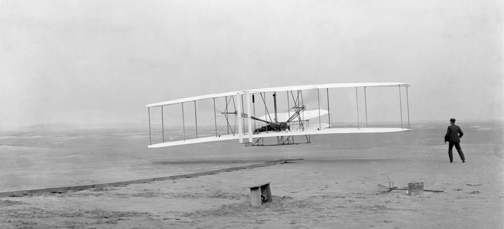 Wright flyer, les frères Wright, 1903