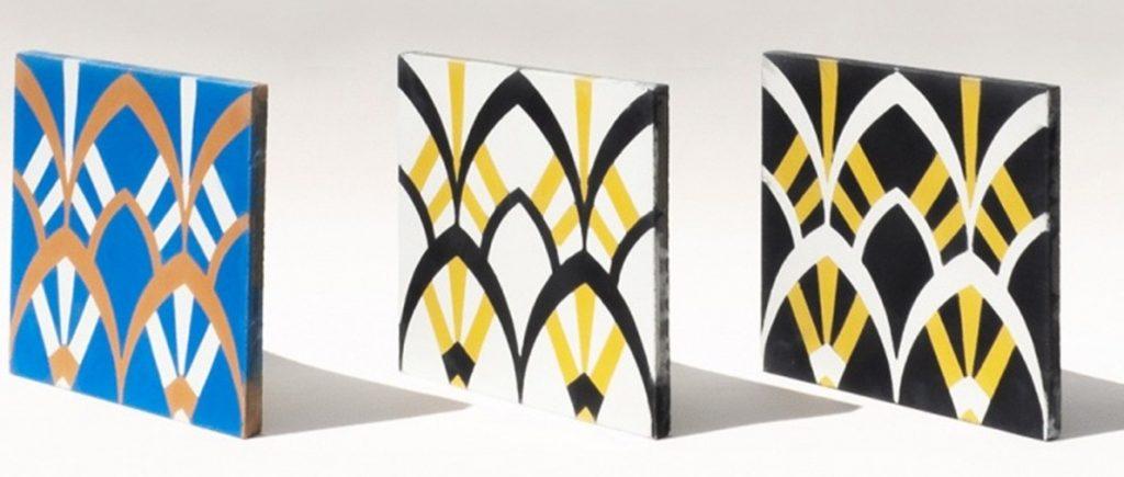 Carreau ciment Plumage - Beauregard Studio