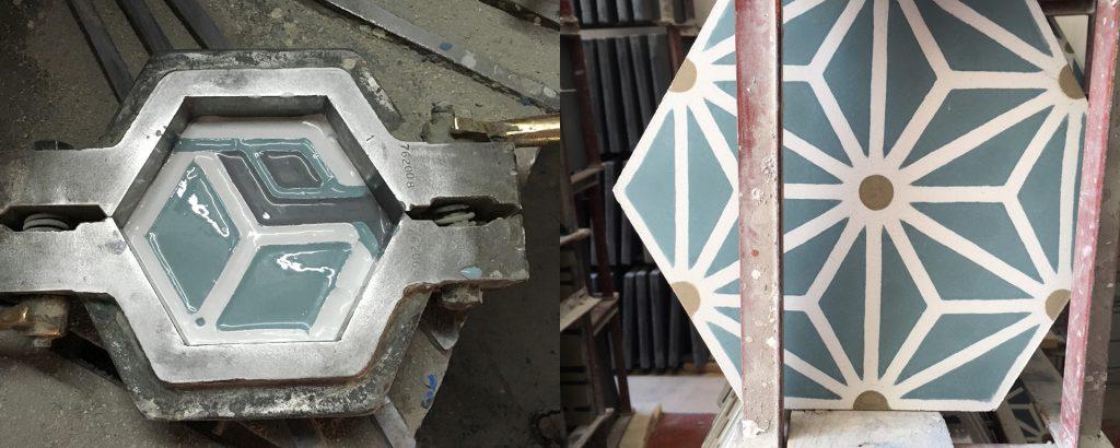 Carreaux de ciment - Maison Bahya