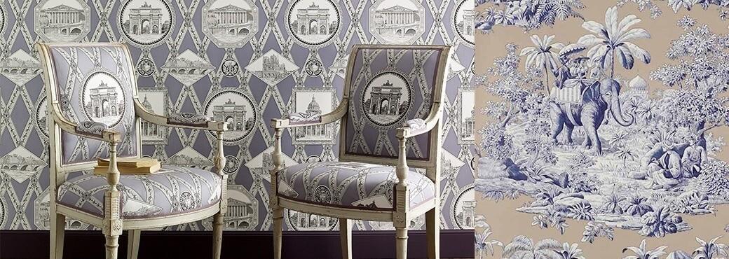 Manuel Canovas - Collection Papiers Peints Trianon