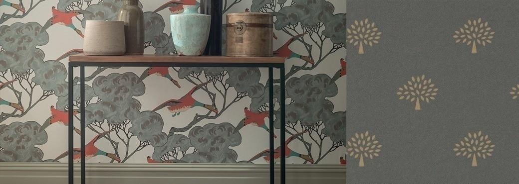 Mulberry - Collection Modern Country Wallpaper