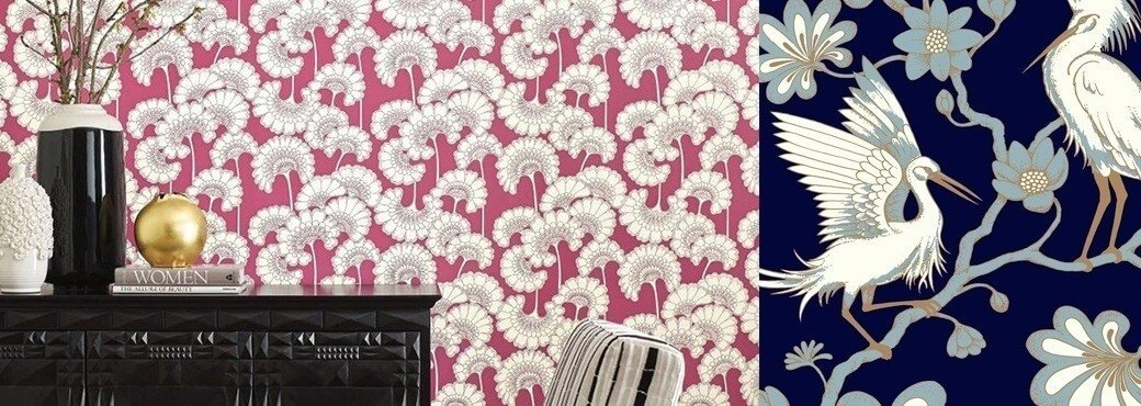 York Wallcoverings - Collection Florence Broadhurst