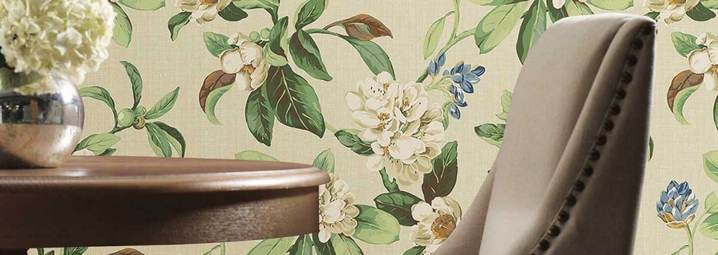 York Wallcoverings - Collection Waverly Peel And Stick
